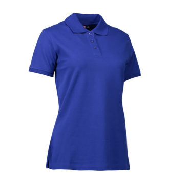 Stretch Poloshirt Damen Identity - royalblau