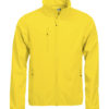Basic Softshell Jacket Clique - lemon