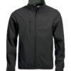 Basic Softshell Jacket Clique - schwarz