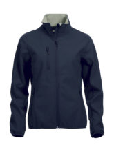 Basic Softshell Jacket Ladies Clique - dark navy