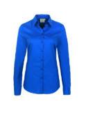 Hakro Longsleeve Bluse Performance - blau
