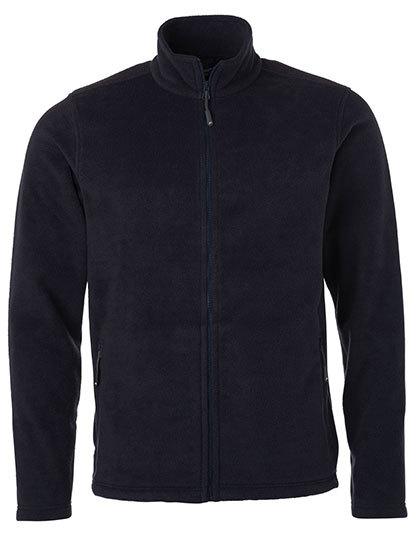 Mens Fleece Jacket James & Nicholson - navy
