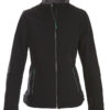 Trial Ladies Softshell Jacket Printer - schwarz