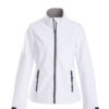 Trial Ladies Softshell Jacket Printer - weiß