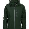 Tulsa Ladies Softshell Jacket Grizzly - dunkelgrün