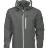 Tulsa Softshell Jacket Grizzly - grau