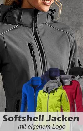 Softshell Jacken bedrucken und besticken
