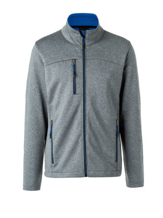 James & Nicholson Mens Melange Softshell Jacket