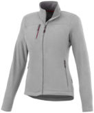 Pitch Damen Mikro Fleece Jacke Slazenger - grau