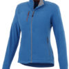 Pitch Damen Mikro Fleece Jacke Slazenger - himmelblau