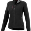 Pitch Damen Mikro Fleece Jacke Slazenger - schwarz