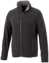 Pitch Mikro Fleece Jacke Slazenger - schwarz