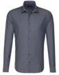Seidensticker Hemd Mens Shirt Tailored Fit Longsleeve - anthracite