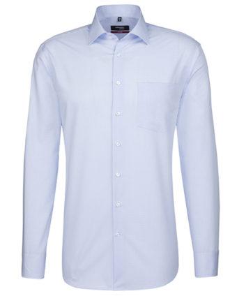 Seidensticker Mens Shirt Modern Fit Check & Stripes Longsleeve