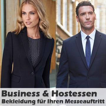 Businessbekleidung mit Firmenlogo