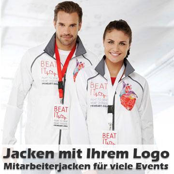 Jacken bedrucken lassen