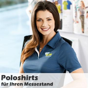Messebekleidung Poloshirts