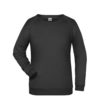 Basic Sweat James & Nicholson jn793 - black