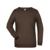 Basic Sweat James & Nicholson jn793 - brown