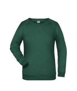 Basic Sweat James & Nicholson jn793 - dark green