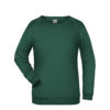 Basic Sweat James & Nicholson jn793 - dark green