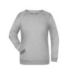 Basic Sweat James & Nicholson jn793 - grey heather