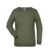 Basic Sweat James & Nicholson jn793 - olive