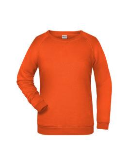 Basic Sweat James & Nicholson jn793 - orange