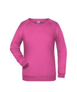 Basic Sweat James & Nicholson jn793 - pink