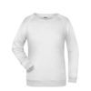 Basic Sweat James & Nicholson jn793 - white