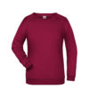 Basic Sweat James & Nicholson jn793 - wine