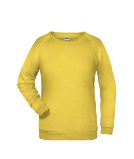 Basic Sweat James & Nicholson jn793 - yellow