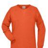 Ladies' Bio Sweat James & Nicholson - orange