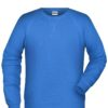 Men's Bio Sweat James & Nicholson - cobalt