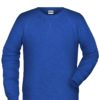 Men's Bio Sweat James & Nicholson - ink melange