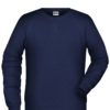 Men's Bio Sweat James & Nicholson - navy