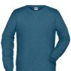 Men's Bio Sweat James & Nicholson - petrol melange