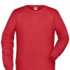 Men's Bio Sweat James & Nicholson - red