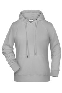 Ladies' Bio Hoody James & Nicholson - ash