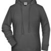 Ladies' Bio Hoody James & Nicholson - graphite