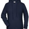 Ladies' Bio Hoody James & Nicholson - navy