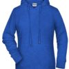 Ladies' Bio Hoody James & Nicholson - royal heather