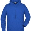 Men's Bio Hoody James & Nicholson - ink melange