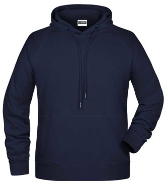 Mens Bio Hoody - navy