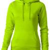 Alley Damen Kapuzensweater Slazenger - apfelgrün
