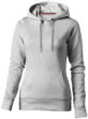 Alley Damen Kapuzensweater Slazenger - grau meliert