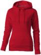 Alley Damen Kapuzensweater Slazenger - rot