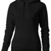 Alley Damen Kapuzensweater Slazenger - schwarz