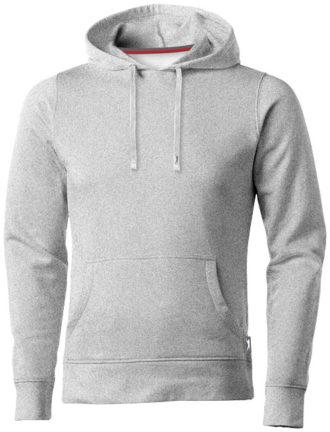 Alley Herren Kapuzensweater Slazenger - grau meliert
