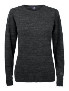 Eatonville Sweater Ladies Cutter & Buck - black